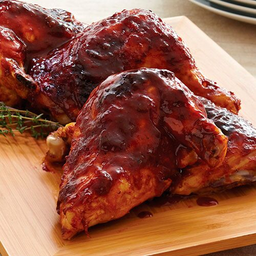 Tangy Oven-Barbecued Chicken