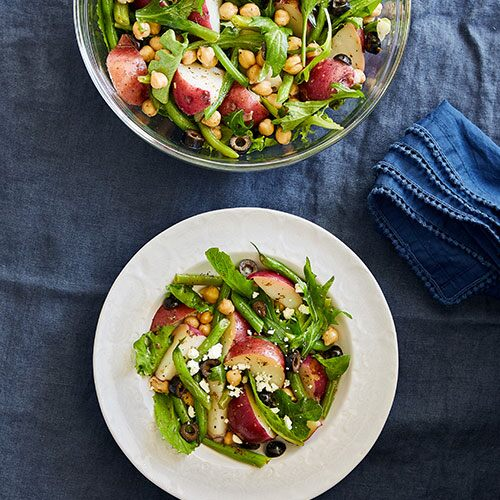 Greek Potato & Green Bean Salad