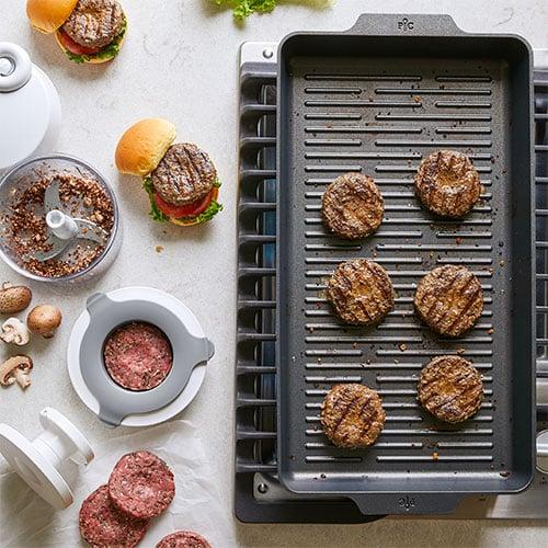 Beef Mushroom Sliders Recipes Pampered Chef Us Site