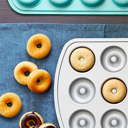 Baked Vanilla Donuts Recipes Pampered Chef Us Site