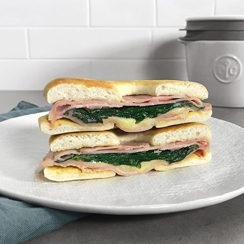 Quick Turkey Florentine Sandwich