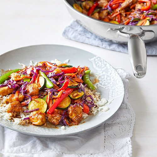 General Tso Chicken Stir-Fry
