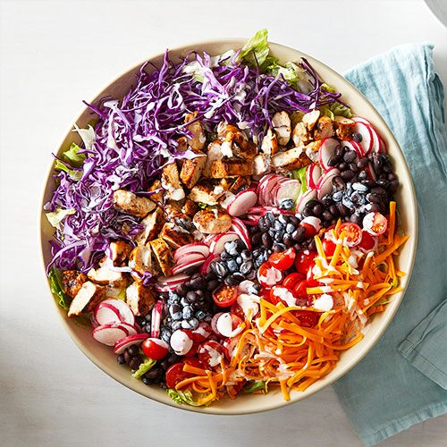 7-Layer Tex-Mex Salad
