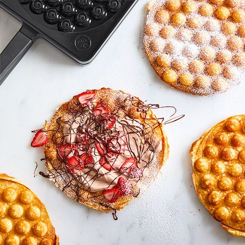 Strawberry Nutella® Bubble Waffle