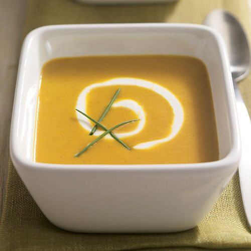 Curry-Scented Butternut Squash Soup