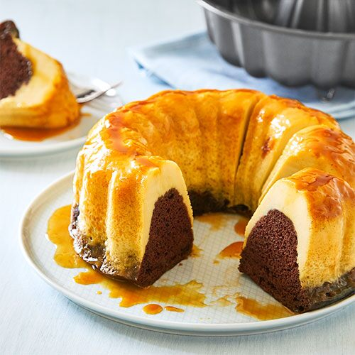 Quick Cooker Chocoflan