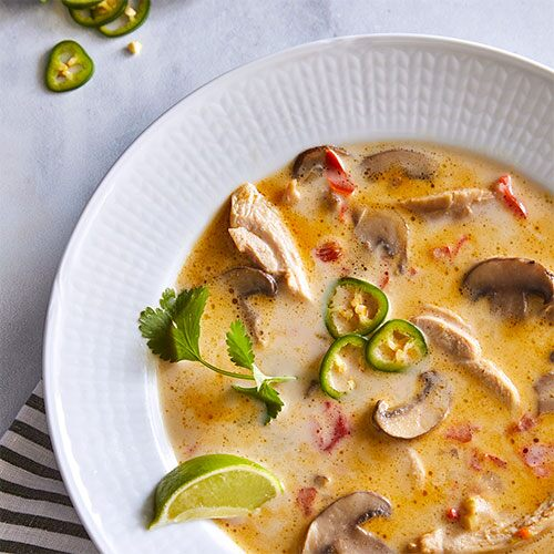 Quick Cooker Thai Coconut Soup