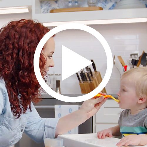 Play Homemade Baby Food Video