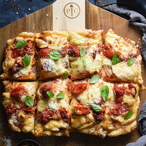 Detroit-Style Pizza Recipe With Pickled Tomato Sauce