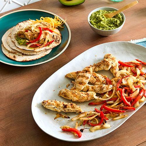 Easy Chicken Fajitas - Recipes