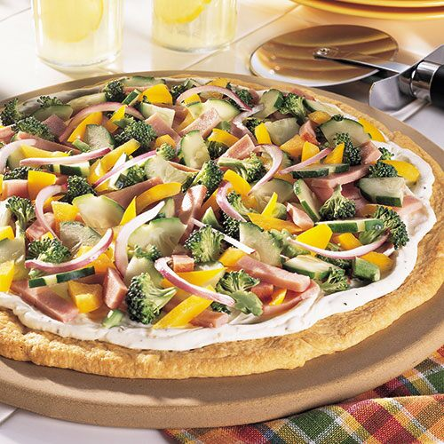 Four Seasons Appetizer Pizza