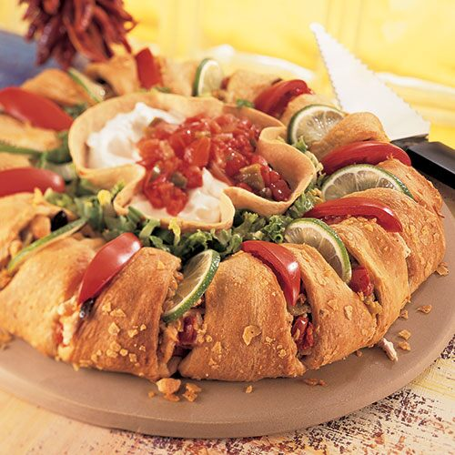 Chicken Enchilada Ring