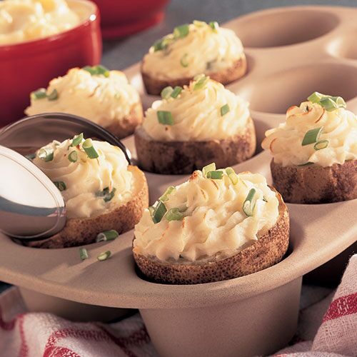 Twice-Baked Potato Cups
