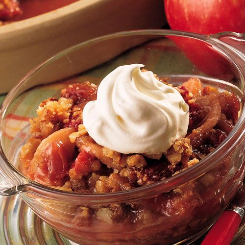 Apple-Rhubarb Crisp - Recipes | Pampered Chef US Site