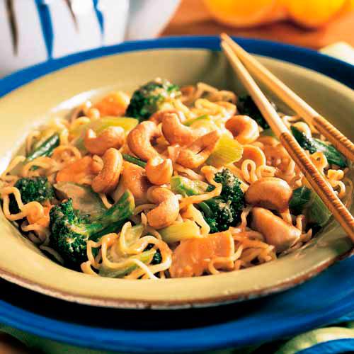 Cashew Chicken Broccoli Stir Fry Recipes Pampered Chef Us Site