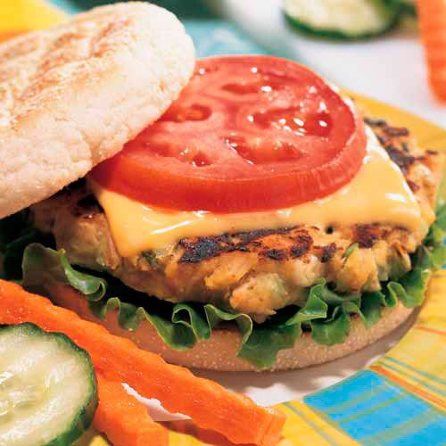 Tuna Melt Patties