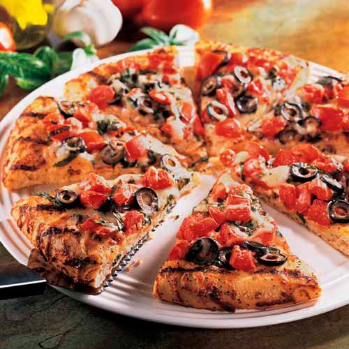 Italian-Style Grilled Pizza