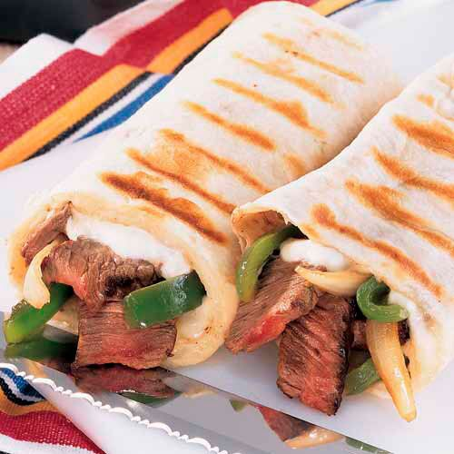 Philly Steak Wraps