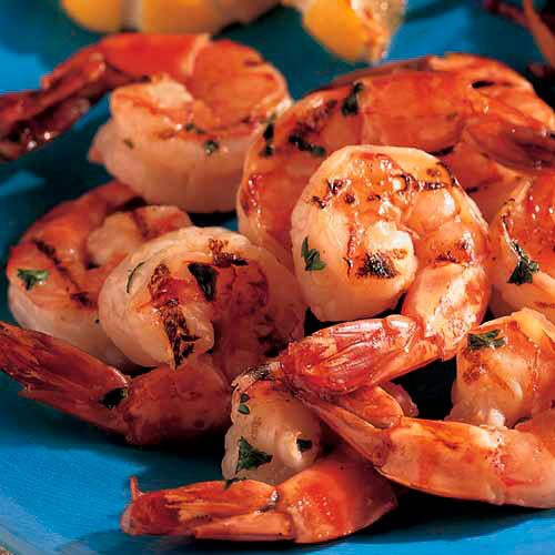 Citrus Shrimp Skewers