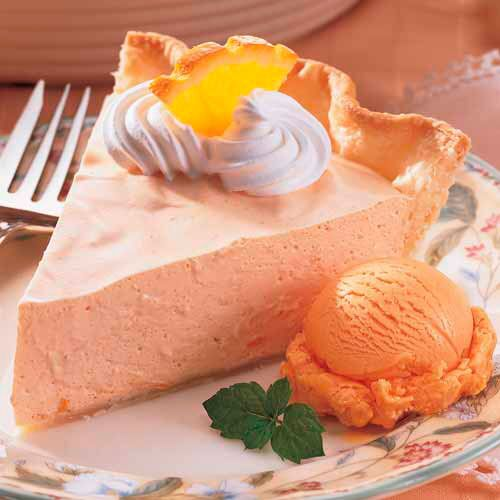 Dreamy Creamy Orange Pie