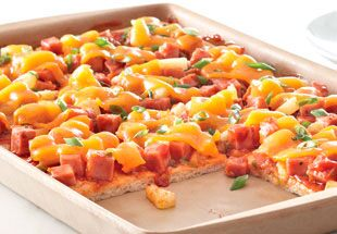 Hawaiian Luau Pizza Recipes The Pampered Chef