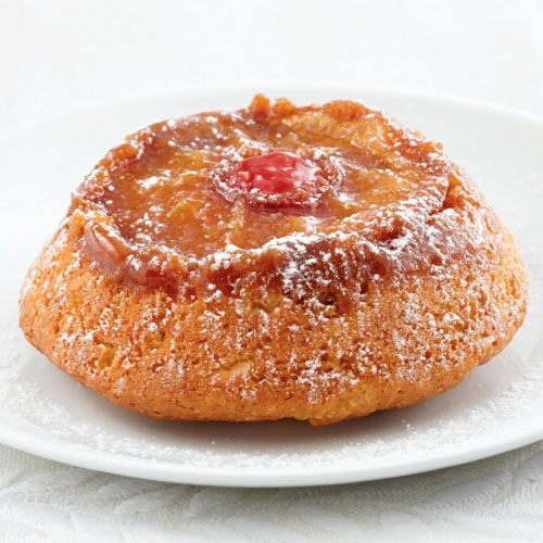 Warm Apple Upside-Down Cakes