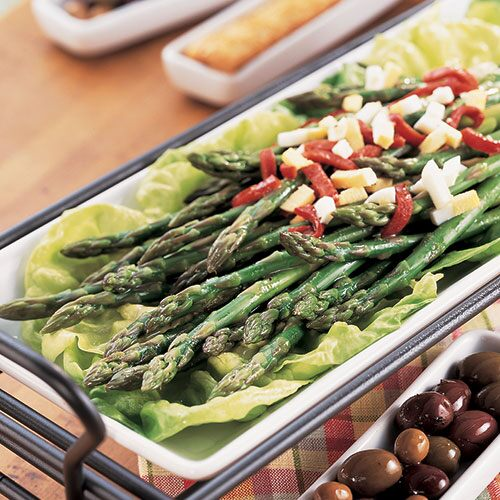 Asparagus Mimosa Salad - Recipes | Pampered Chef US Site