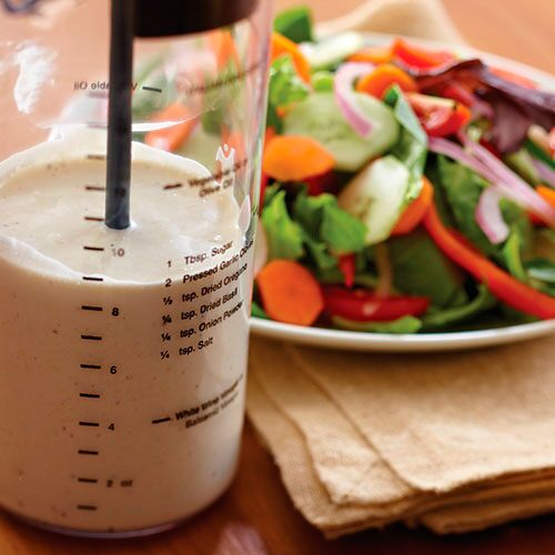Dazzling Dressings - Creamy Parmesan Peppercorn Dressing - Recipes ...