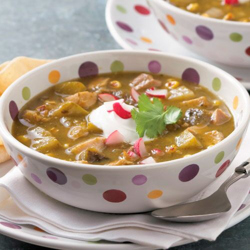 chicken poblano and tomatillo stew this flavorful stew comes together ...