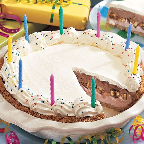 Celebration Ice Cream Pie