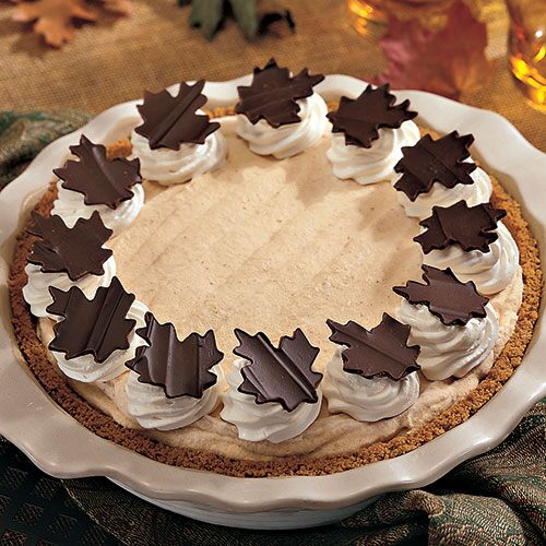 Frozen Pumpkin Mousse Pie - Recipes | Pampered Chef US Site