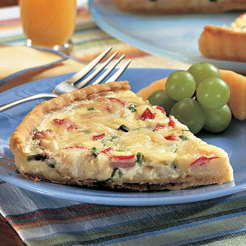Seafood Quiche