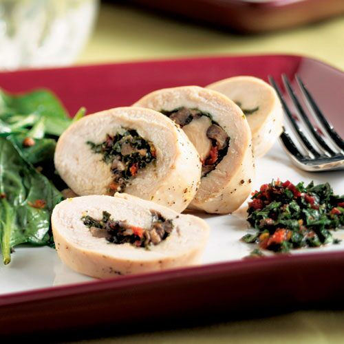 Stuffed Chicken with Sun-Dried Tomato Chimichurri