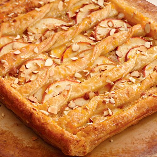 Warm Apple-Almond Pastry