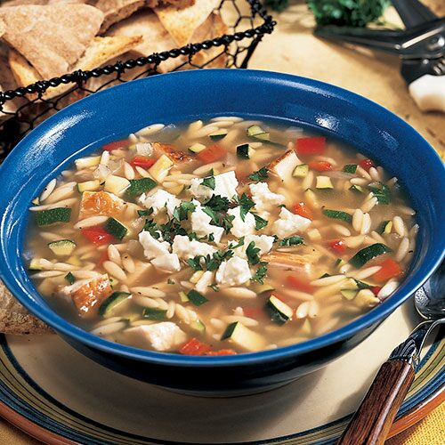 Chicken and Orzo Soup