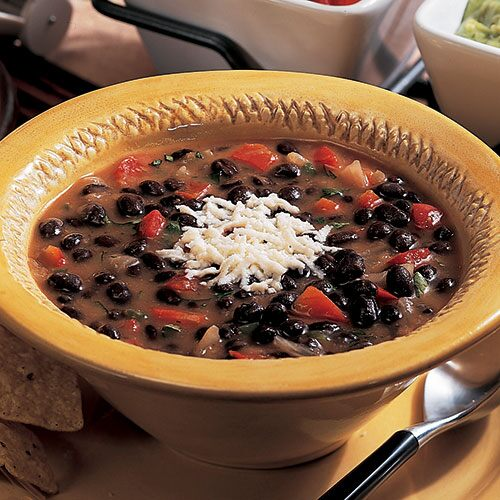 Quick Black Bean Chili