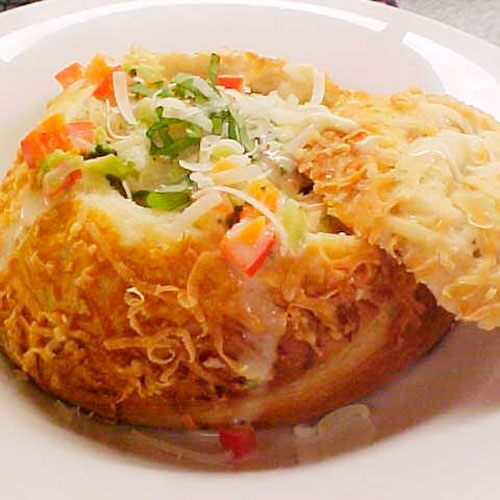 Crispy Bread Bowls Recipes Pampered Chef Us Site