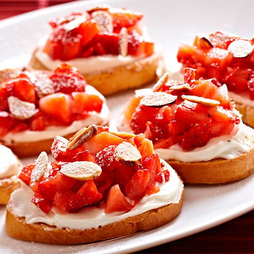 Strawberry Bruschetta Recipes Pampered Chef Us Site