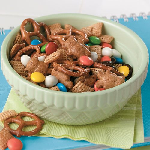 Honey Bear Snack Mix