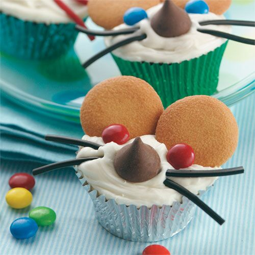 Mouse-in-the-House Cupcakes