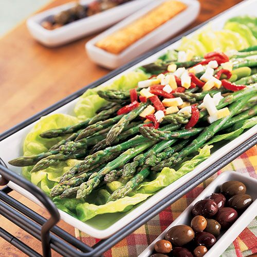 Asparagus with Dijon Hollandaise