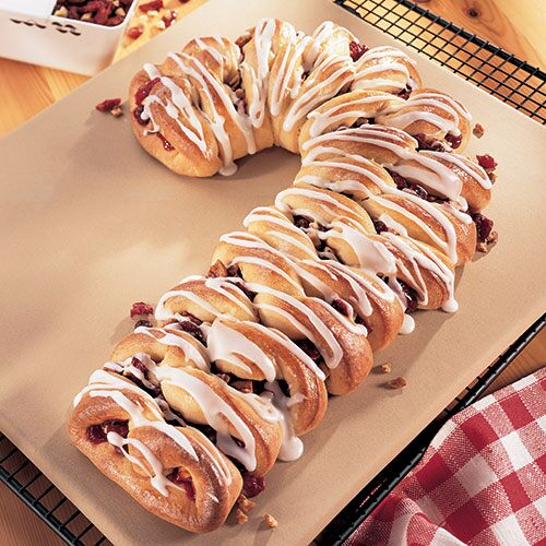 Pampered Chef Recipe Candy Cane Coffee Cake