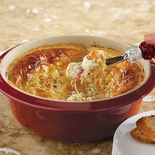 Hot & Cheesy Bruschetta Dip