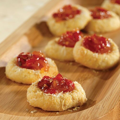 Savory Parmesan Thumbprints