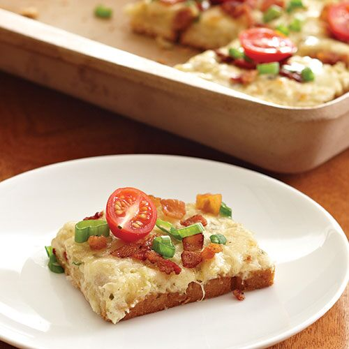 Bacon Amp Artichoke Squares Recipes Pampered Chef Us Site