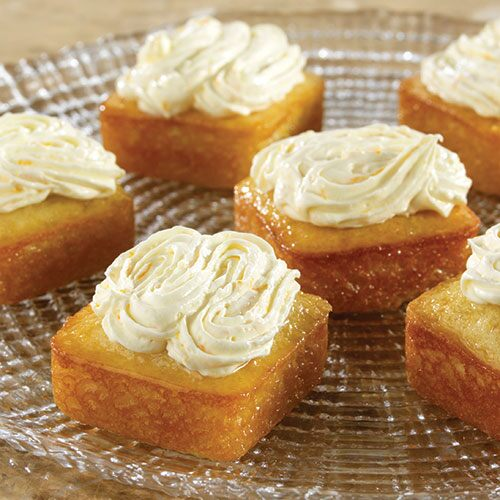 Orange blossom cakes recipes pampered chef us site forumfinder Image collections