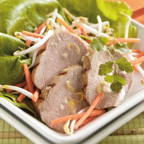 Vietnamese Pork Tenderloin Salad