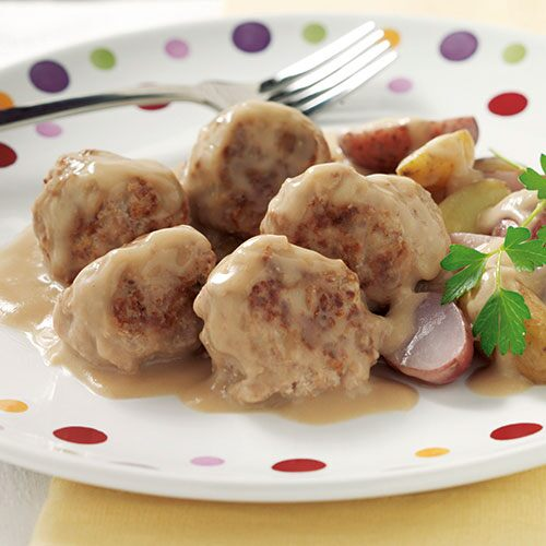 Swedish-Style Turkey Meatballs