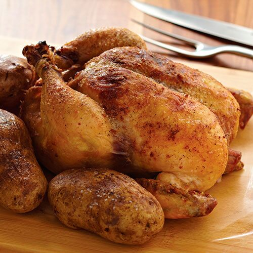 Vesuvio Roasted Chicken & Potatoes