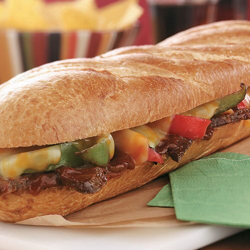 Barbecue Beef & Peppers Sub